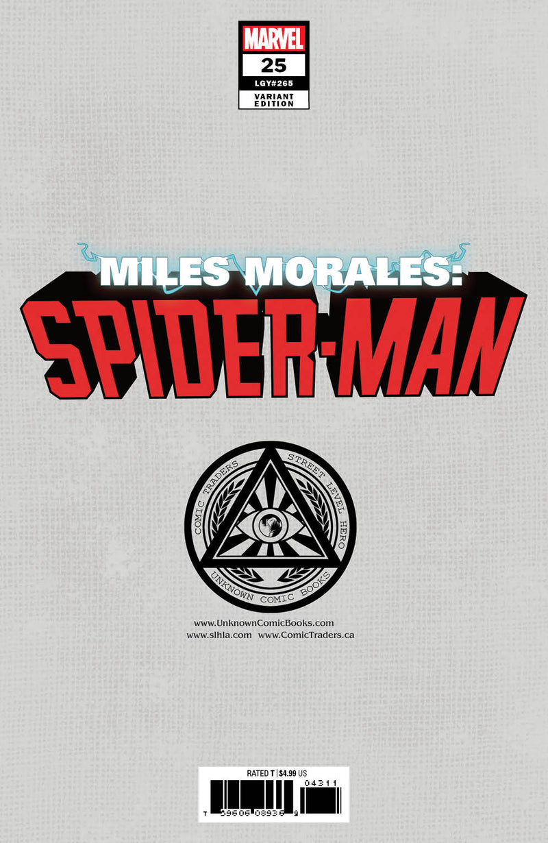 SIGNED W/ COA MILES MORALES SPIDER-MAN