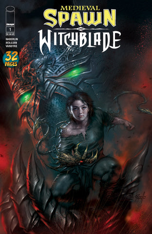 MEDIEVAL SPAWN WITCHBLADE #1 (OF 4) UNKNOWN COMIC BOOKS PARRILLO EXCLUSIVE 5/9/2018