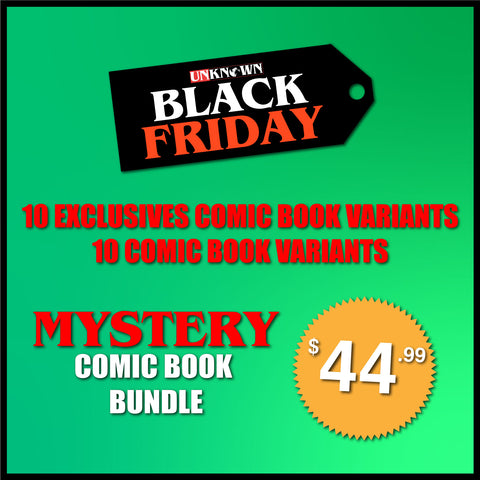 BLACK FRIDAY MYSTERY COMIC BOOK BUNDLE BF 20 PACK (12/11/2019)