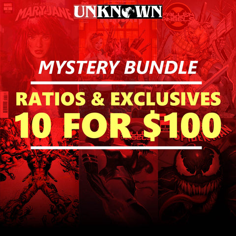 UNKNOWN MYSTERY - RATIO/EXCLUSIVE BUNDLE - 10 PACK (04/08/2020)