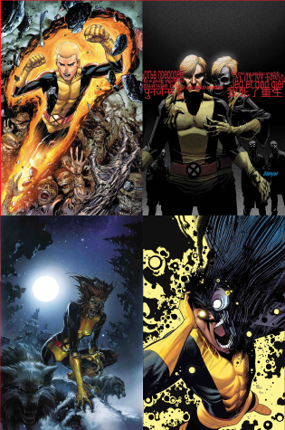 NEW MUTANTS VAR 10 PACK BUNDLE 3/28/2018