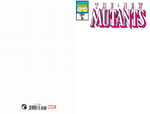 NEW MUTANTS #98 FACSIMILE EDITION BLANK EXCLUSIVE MICO SUAYAN SKETCH (10/30/2019)
