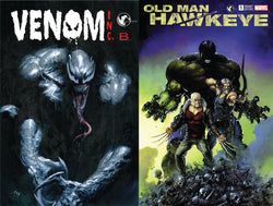 VENOM INC & OLD MAN HAWKEYE 2 PACK UNKNOWN COMIC BOOKS EXCLUSIVE 1/17/2018
