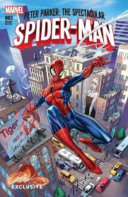 PETER PARKER SPECTACULAR SPIDER-MAN #1 J. SCOTT CAMPBELL EXCLUSIVE CVR A