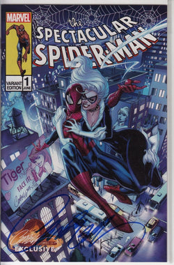 PETER PARKER SPECTACULAR SPIDER-MAN #1 J. SCOTT CAMPBELL EXCLUSIVE CVR C