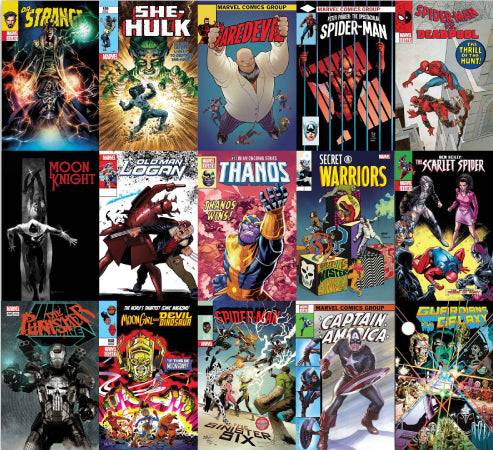 NOVEMBER MARVEL LENTICULAR BUNDLE 15 COVERS 11/29/2017