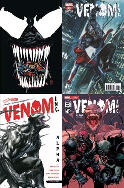 AMAZING SPIDER-MAN VENOM INC ALPHA VAR BUNDLE 4 PACK 12/6/2017
