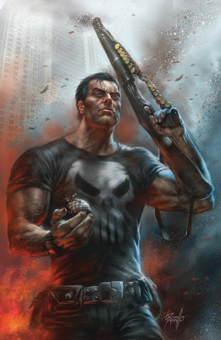 PUNISHER #1 UNKNOWN COMIC BOOKS PARRILLO VIRGIN 8/22/2018