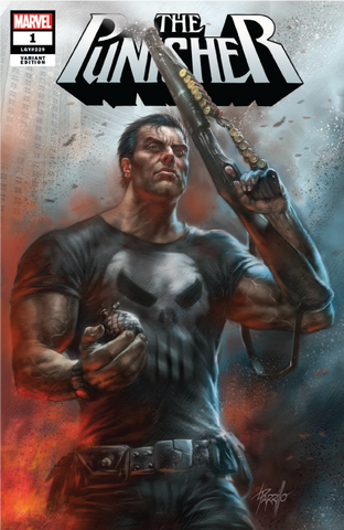 PUNISHER #1 UNKNOWN COMIC BOOKS PARRILLO  CVR A 8/22/2018