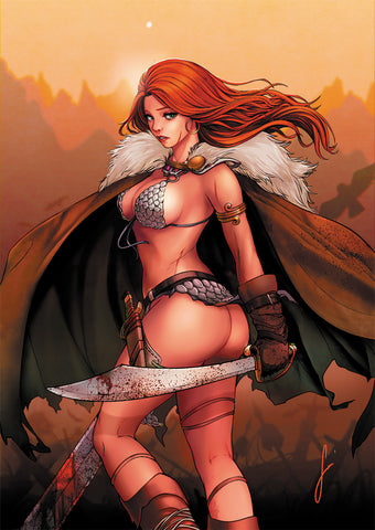 RED SONJA AGE OF CHAOS #4 UNKNOWN COMICS VANESSA TOLENTINO EXCLUSIVE VAR (04/15/2020)