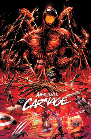 SIGNED W/COA ABSOLUTE CARNAGE #1 (OF 4) TYLER KIRKHAM EXCLUSIVE (09/25/2019)