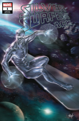 SILVER SURFER BLACK #1 (OF 5) UNKNOWN COMIC BOOKS PARRILLO EXCLUSIVE (06/12/2019)