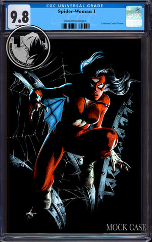 SPIDER-WOMAN #1 UNKNOWN COMICS EXCLUSIVE DELL'OTTO VIRGIN VAR CGC 9.8 BLUE LABEL (08/26/2020)