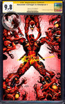 ABSOLUTE CARNAGE VS DEADPOOL #3 (OF 3) TYLER KIRKHAM VIRGIN EXCLUSIVE AC CGC 9.8 SS YELLOW LABEL (01/30/2019)