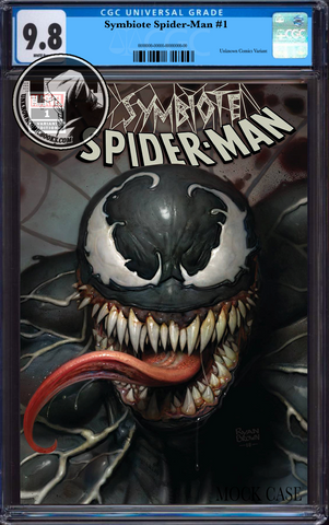 SYMBIOTE SPIDER-MAN #1 (OF 5) RYAN BROWN EXCLUSIVE CGC 9.8 BLUE LABEL 7/30/2019