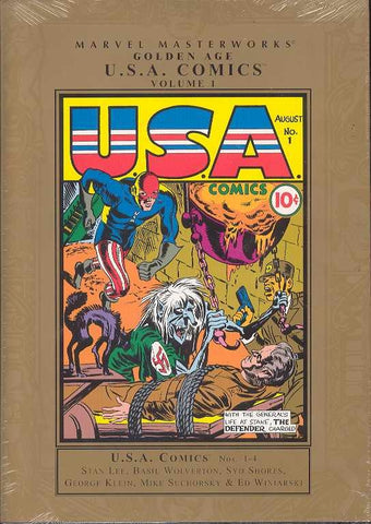 MMW GOLDEN AGE USA COMICS HC VOL 01 NEW ED