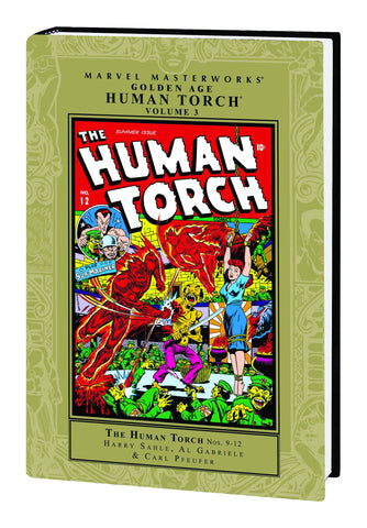 MMW GOLDEN AGE HUMAN TORCH HC VOL 03