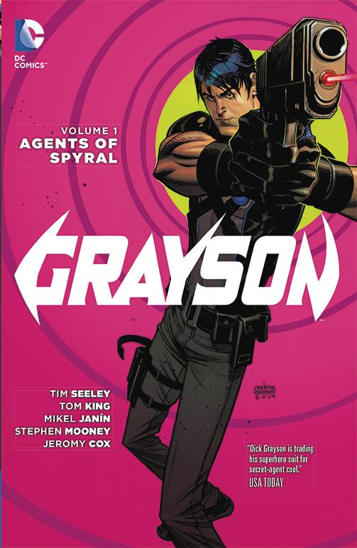 GRAYSON TP VOL 01 AGENTS OF SPYRAL 3/20/2019