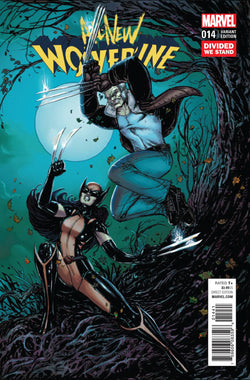 ALL NEW WOLVERINE #14 DIVIDED WE STAND VAR