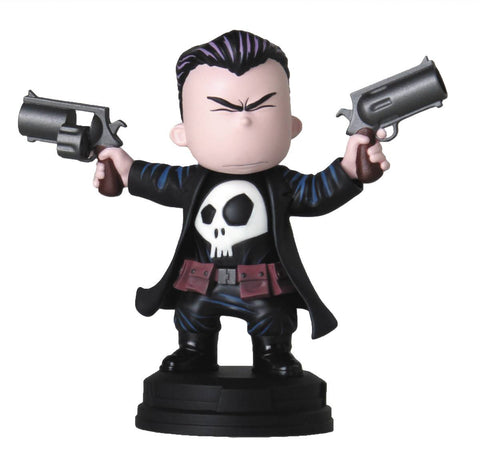 MARVEL ANIMATED STYLE PUNISHER STATUE (NET) (C: 0-1-2)