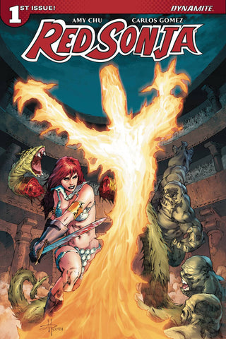 RED SONJA #1 CVR F RUBI EXC SUBSCRIPTION VAR (Pre-Orders for January 2017)