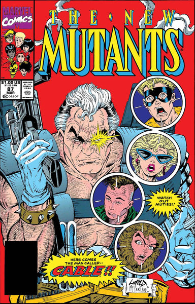 TRUE BELIEVERS CABLE AND NEW MUTANTS #1