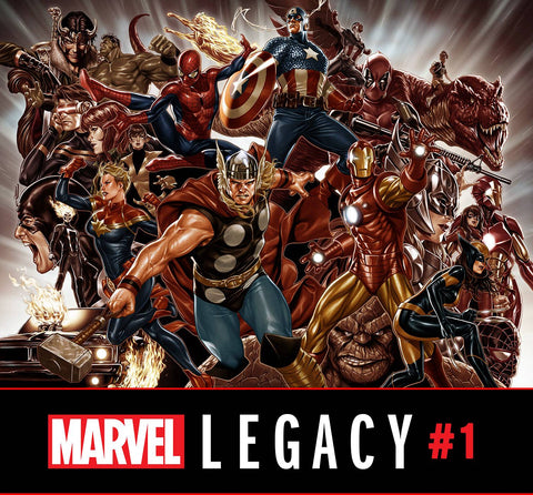 MARVEL LEGACY #1 BROOKS WRAPAROUND VAR 9/27/2017