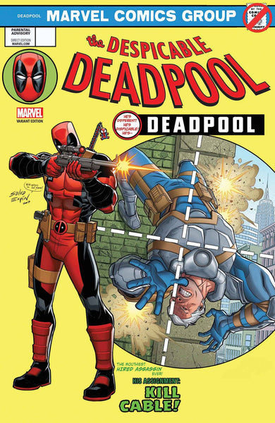 DESPICABLE DEADPOOL #287 ESPIN LH VAR LEG