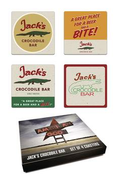 AMERICAN GODS JACKS CROCODILE BAR COASTER SET (C: 0-1-2) 9/26/2018