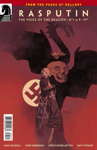 RASPUTIN VOICE OF DRAGON #1 (OF 5) VAR 11/15/2017