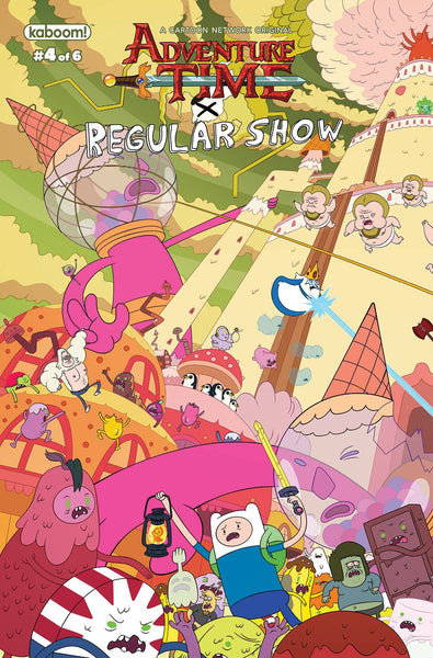 ADVENTURE TIME REGULAR SHOW #4 MAIN & MIX (C: 1-0-0)