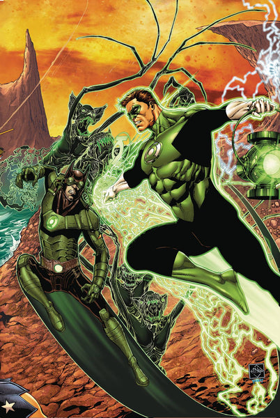 HAL JORDAN & THE GREEN LANTERN CORPS #32 (METAL) 11/8/2017