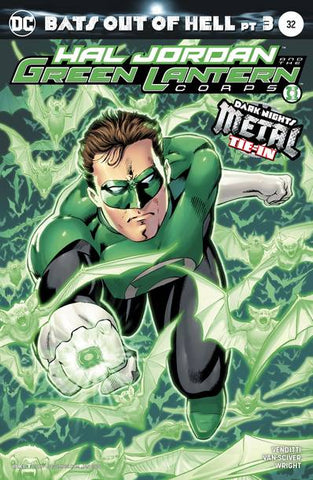 HAL JORDAN & THE GREEN LANTERN CORPS #32 VAR ED (METAL) 11/8/2017