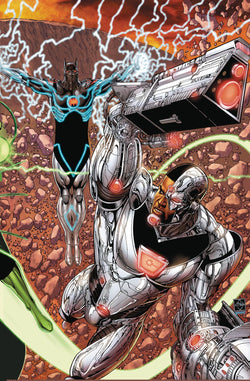 JUSTICE LEAGUE #33 (METAL) 11/15/2017