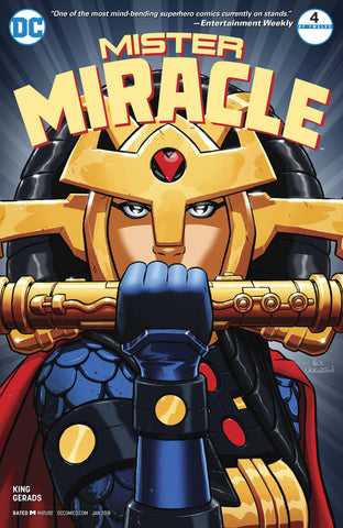 MISTER MIRACLE #4 (OF 12) 2ND PTG (MR) 2/7/2018