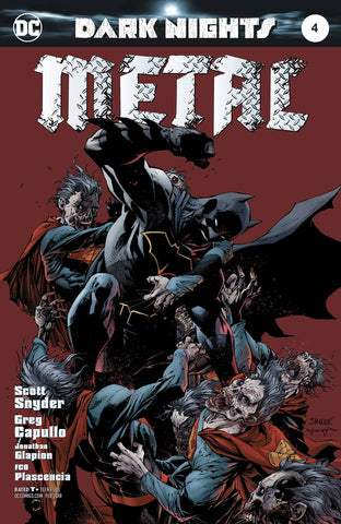 DARK NIGHTS METAL #4 (OF 6) LEE VAR ED 12/20/2017