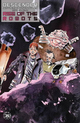 DESCENDER #26 CVR B INTERLOCKING LEMIRE & NGUYEN