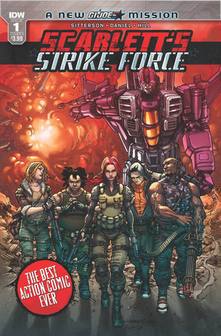 SCARLETTS STRIKE FORCE #1 CVR A TOLIBAO