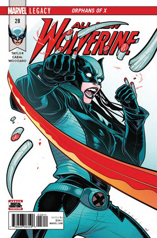 ALL NEW WOLVERINE #28 LEG