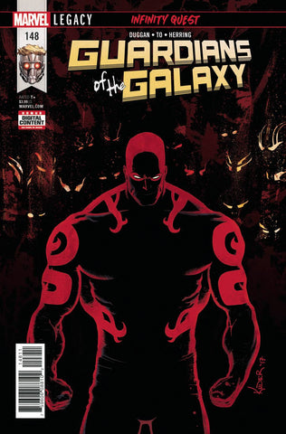 GUARDIANS OF GALAXY #148 LEG 12/6/2017