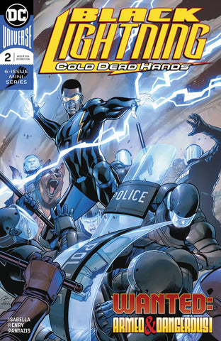 BLACK LIGHTNING COLD DEAD HANDS #2 (OF 6)