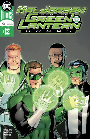 HAL JORDAN AND THE GREEN LANTERN CORPS #35 VAR ED