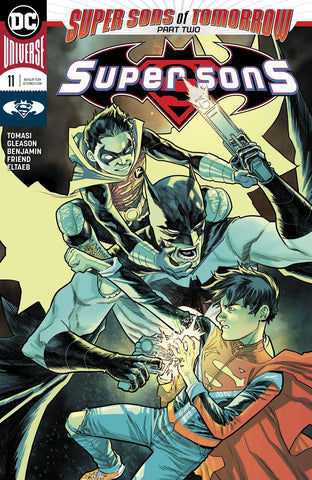 SUPER SONS #11 (SONS OF TOMORROW) 12/20/2017