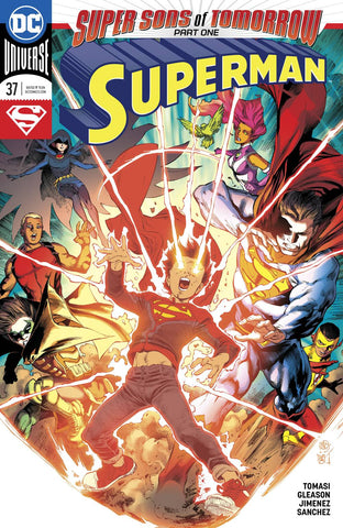 SUPERMAN #37 (SONS OF TOMORROW) 12/20/2017