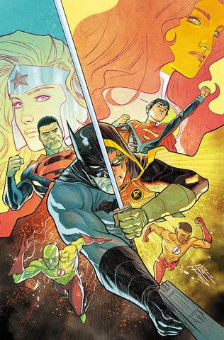 TEEN TITANS #15 (SONS OF TOMORROW) 12/27/2017