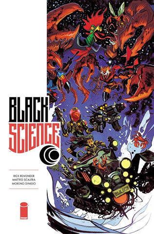 BLACK SCIENCE #34 CVR B TAKARA (MR) 1/17/2018