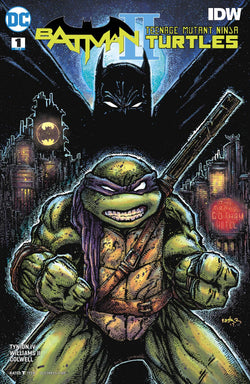 BATMAN TEENAGE MUTANT NINJA TURTLES II #1 (OF 6) VAR ED 12/6/2017