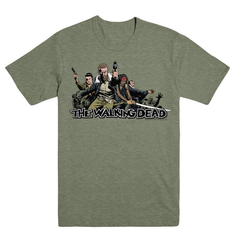 WALKING DEAD 2017 ENSEMBLE T/S