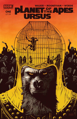 PLANET OF THE APES URSUS #1 MAIN & MIX