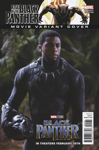 RISE OF BLACK PANTHER #1 (OF 6) MOVIE VAR LEG